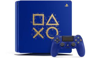 Sony va bientôt lancer les Days of Play, une PS4 collector bleue avec des symboles dorés