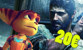 PS4 : Sony annonce les PlayStation Hits, plein de gros jeux pour 19,99€ !