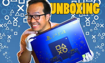 """PS4 : on vous unboxe la console collector """"Days of Play"""" et son bleu électrique"""