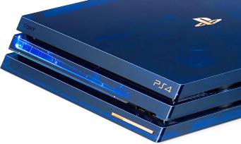PS4 Pro : un modèle ultra collector pour les 500 millions de PlayStation vendues, et elle est magnifique !