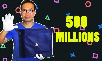PS4 500 Millions Blue Transparent : on vous unboxe la console ultra collector de Sony