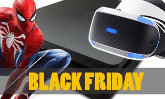 Black Friday : des prix ultra agressifs pour la PS4, le PS VR et les accessoires