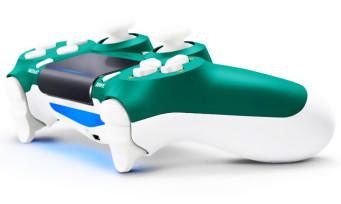 PS4 : la nouvelle manette Alpine Green se dévoile, un vert tapant qui surprend