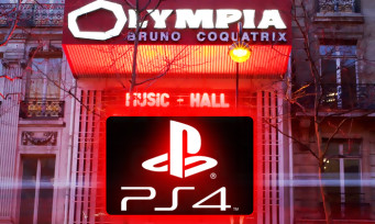 PlayStation : il sera bientôt possible de jouer à la PS4... à l'Olympia de Paris !