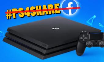 PS4 : Sony retire la compatibilité avec Facebook, de nouvelles fonctions plus solides à venir