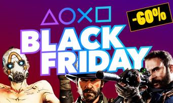 PS4 : le Black Friday est lancé avec des soldes jusqu'à -60% !