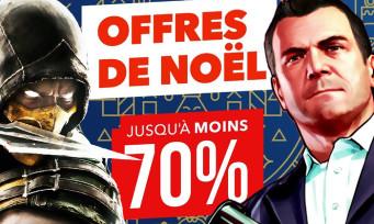 PS4 : les soldes de Noël sont là avec des réductions jusqu'à -70% !
