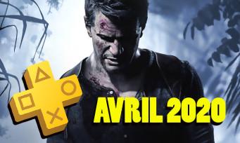 PlayStation Plus : les jeux d'Avril 2020 ont fuité et il y a du Uncharted 4 dedans
