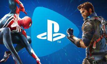 PlayStation Now : Spider-Man tisse sa toile dans les jeux d'avril
