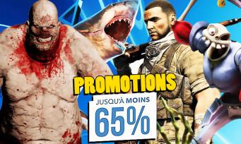 PS4 : une foule de jeux en réduction jusqu'à -65%, le porte-monnaie va craquer