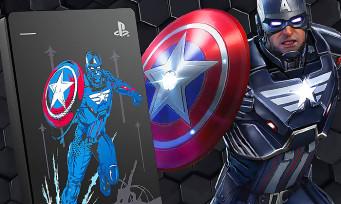 PS4 : un disque dur Marvel's Avengers collector chez Seagate, il existe plusieurs modèles différents