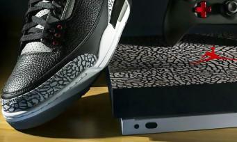 Xbox One X : Microsoft va sortir 3 consoles collectors aux couleurs des Air Jordan III, les voici en photos