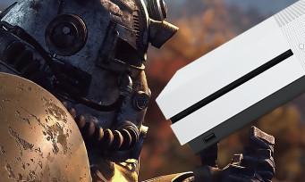 Xbox One X : la console se pare de blanc avec Fallout 76, la manette Elite aussi