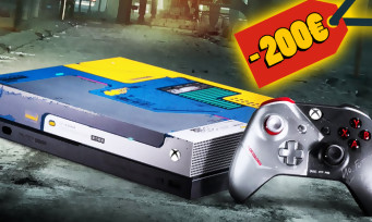 Cyberpunk 2077 : 200€ de promo sur la Xbox One X collector, c'est la rupture de stock