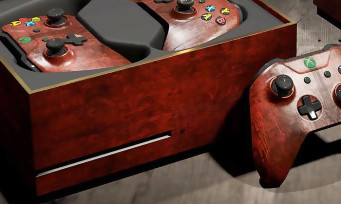 Xbox One : une console collector en forme de coffre pour Gwent The Witcher Card Game