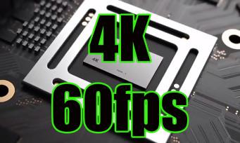 Xbox One Scorpio : la console serait capable d'enregistrer des vidéos en 4K et 60fps
