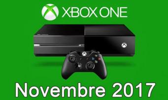 Xbox One / Xbox 360 : voici la liste des jeux gratuits de novembre 2017