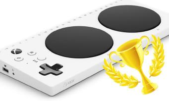 Xbox Adaptive Controller : Microsoft reçoit le prix de l'invention de l'année, chapeau bas