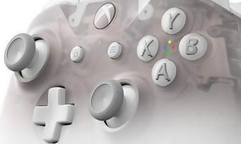 Xbox One : la nouvelle manette Phantom White fait son apparition, et dévoile son look ravageur !