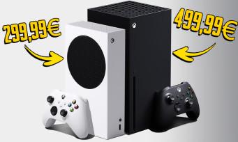 Xbox Series X / S : les prix des consoles officiellement dévoilés avec une offre de 24,99€ par mois !