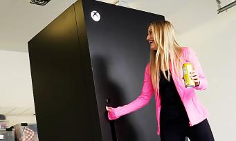 Xbox Series X : Microsoft a fabriqué de véritables réfrigérateurs, la référence au mème est géniale !
