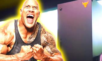 """Xbox Series X : une console collector Dwayne """"The Rock"""" Johnson pour les enfants malades"""