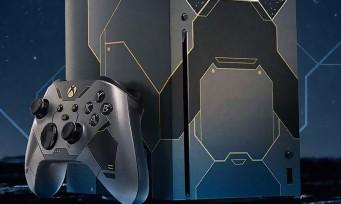 Xbox Series X : une console collector pour les 20 ans de Halo et une manette Elite 2 Master Chief