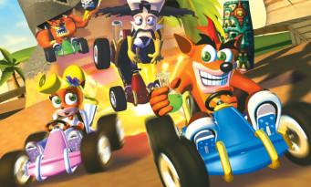 E3 2017 : Crash Team Racing bientôt de retour ? Des trophées sèment le doute