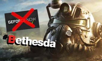Bethesda : la firme se retire du GeForce Now, la mauvaise nouvelle de la journée