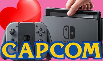 Nintendo Switch : Capcom fou amoureux de la console ? Plusieurs jeux seraient en préparation
