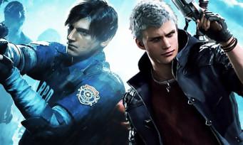 Capcom : de hautes attentes concernant les ventes de Resident Evil 2 et Devil May Cry 5