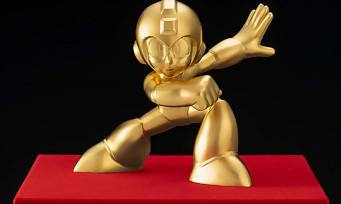 Mega Man : une figurine en or pur à 18 600€ pour les 30 ans de la série !