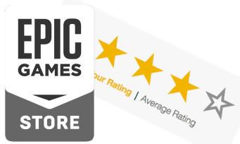 Epic Games Store : un nouveau système d'évaluation pour les jeux, explications