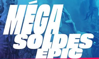 Epic Games Store : les Méga Soldes ont commencé, des offres hallucinantes !