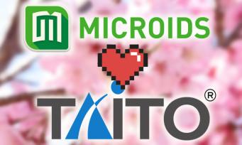Microïds : un partenariat avec Taito pour le retour de 2 jeux cultes de l'entreprise japonaise