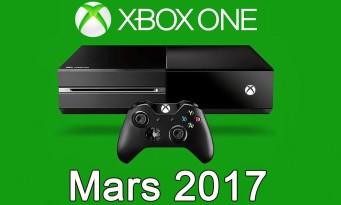 Xbox One / Xbox 360 : voici les jeux gratuits du mois de mars 2017