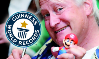 Nintendo : le doubleur de Mario, Charles Martinet, vient de recevoir un prix par le Guinness World Records