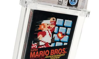 Super Mario Bros. : un exemplaire du jeu vendu à un prix délirant, nouveau record établi