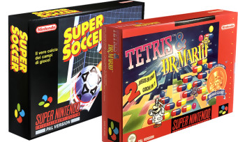 Super Nintendo : des Super Soccer + Tetris & Dr Mario d'époque en vente chez PixelHeart