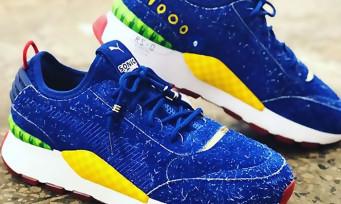 Sonic X Puma : voici les fameuses baskets aux couleurs du hérisson, et elles sont poilues !