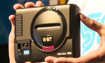 Megadrive Mini : SEGA va aussi sortir sa console en version miniature, premières images