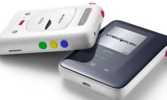SEGA : un lecteur audio MP3 aux couleurs de la Saturn !