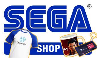 SEGA : la firme lance son e-shop européen avec une tonne de goodies en rayon