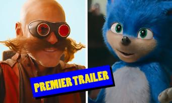 Sonic The Hedgehog : le film live avec Jim Carrey a enfin droit à son trailer