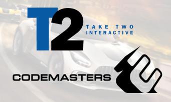 Codemasters : l'entreprise rachetée par Take-Two pour presque un milliard de dollars !