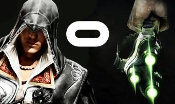 Splinter Cell : la saga de retour en VR sur Oculus, de même pour Assassin's Creed