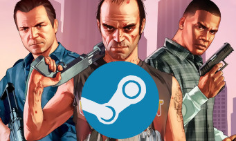 Charts Steam : GTA 5 est toujours le roi en 2017 !