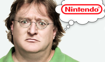 Valve : jaloux de Nintendo, Gabe Newell (PDG) promet des nouveaux jeux