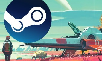 Charts Steam : No Man's Sky conserve son podium pour la seconde semaine