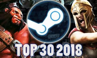 Steam : Valve révèle les jeux qui se sont le mieux vendus en 2018, il y a des surprises